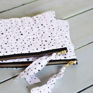 alix colombani tissu étoiles noires
